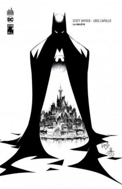 Couverture Batman - La relève - édition n&b 80 ans