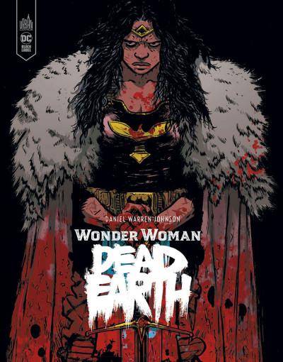 Couverture Wonder woman - dead earth