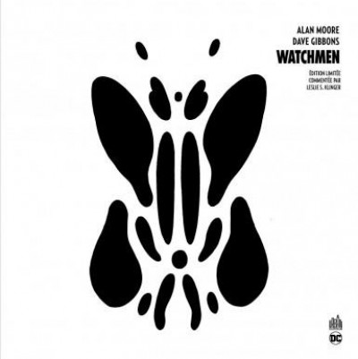 Couverture Watchmen - édition n&b annotée