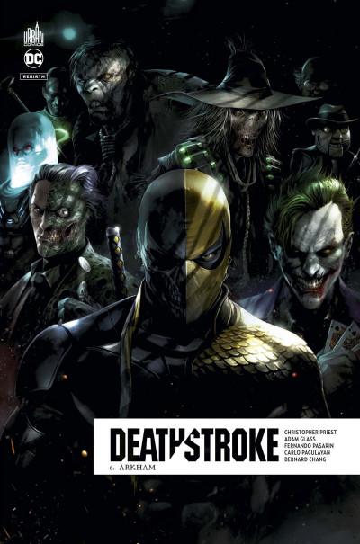 Couverture Deathstroke rebirth tome 6