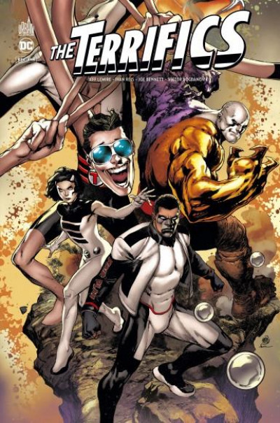 Couverture The terrifics