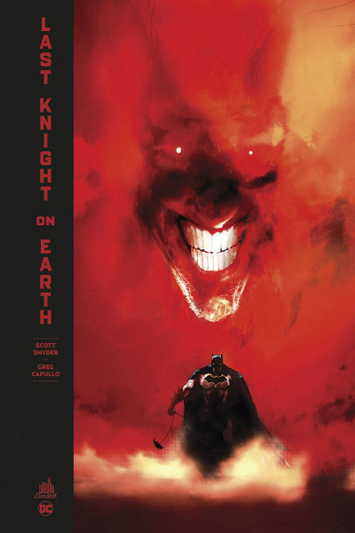 Couverture Batman - édition deluxe - Last knight on earth
