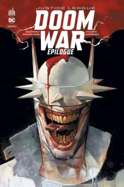 Couverture Justice league - Doom war - Épilogue