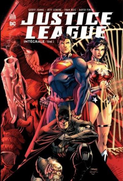 Couverture Justice league - intégrale tome 2