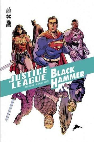 Couverture Justice league/Black hammer
