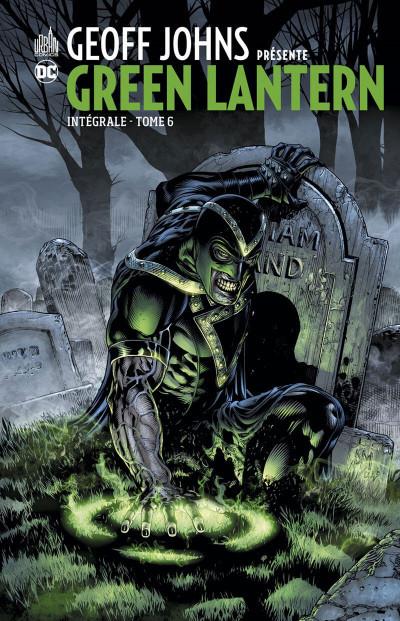 Couverture Geoff Johns présente Green Lantern - intégrale tome 6