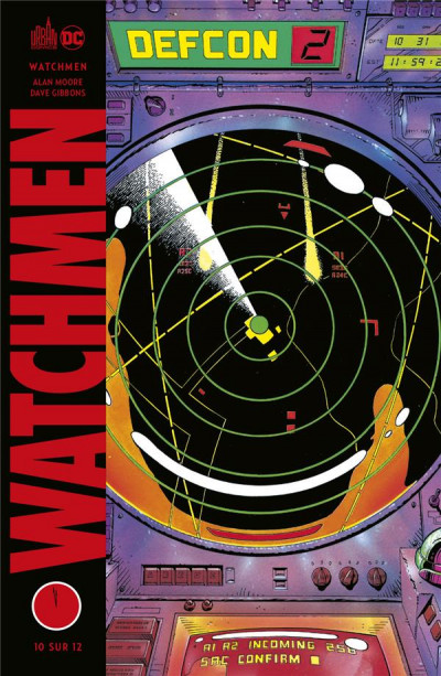 Couverture Watchmen (éd. 2020) tome 10