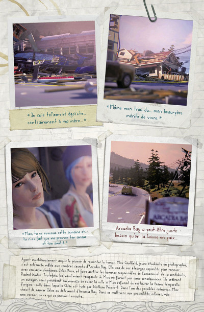 Page 8 Life is strange tome 1