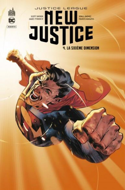 Couverture New justice tome 4