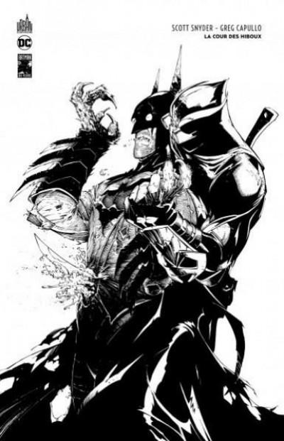 Couverture Batman - La cour des hiboux - édition n&b 80 ans
