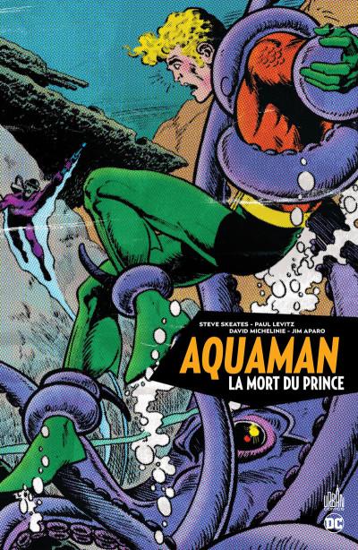 Couverture Aquaman - la mort du prince