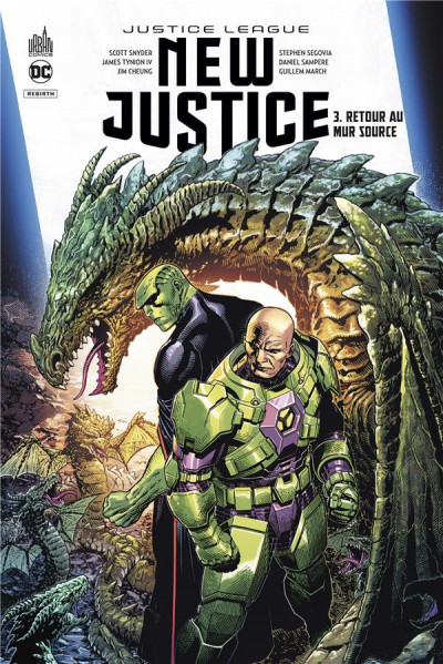 Couverture New justice tome 3