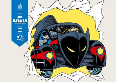 Couverture Batman the dailies tome 2