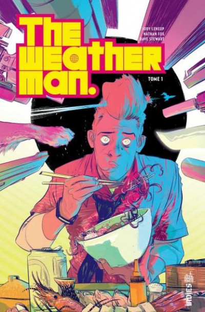Couverture The weatherman tome 1