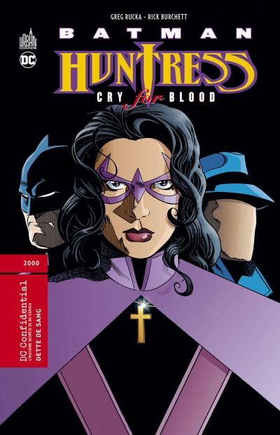 Couverture Batman huntress