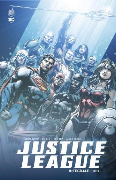 Couverture justice league integrale - tome 4