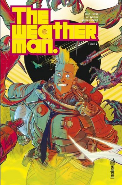 Couverture The weatherman tome 2