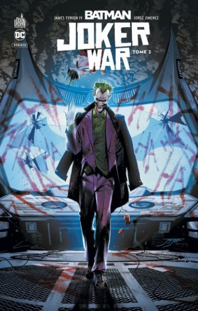 Couverture Batman joker war tome 2