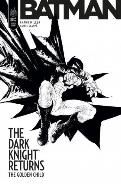Couverture Dark knight - The golden child