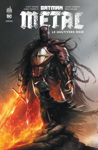 Couverture Batman metal - Le multivers noir