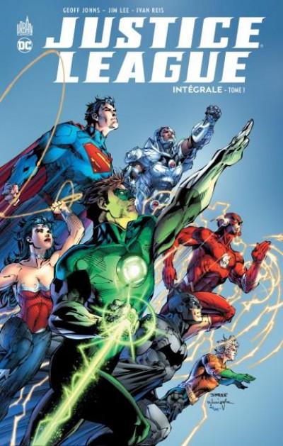 Couverture Justice league - intégrale tome 1