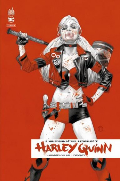 Couverture Harley Quinn rebirth tome 8
