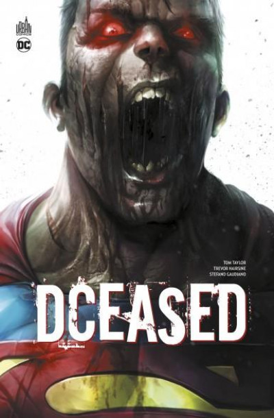 Couverture Dceased - cover Superman