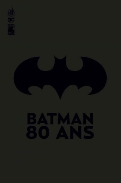 Couverture Batman 80 ans