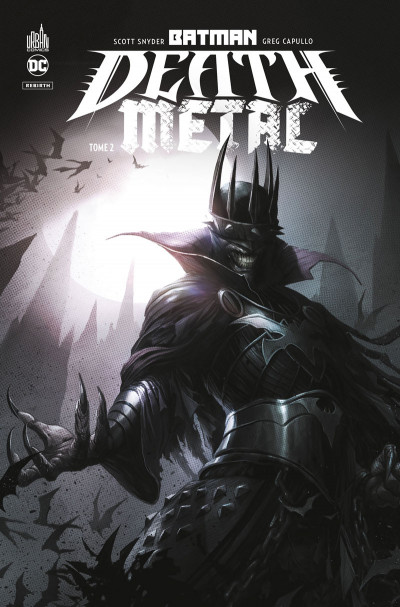 Couverture Batman - death metal tome 2