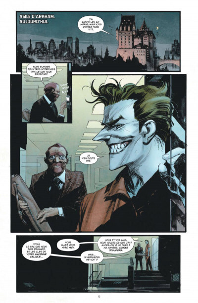 Page 1 Batman - curse of the white knight
