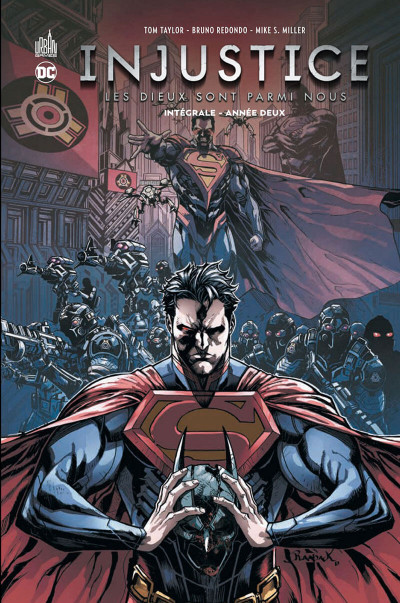Couverture Injustice - intégrale tome 2