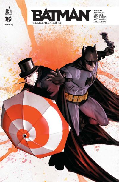 Couverture Batman rebirth tome 9
