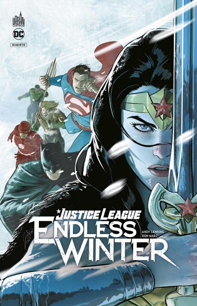 Couverture Justice league endless winter