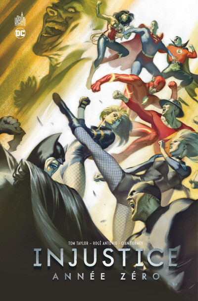 Couverture Injustice year zero