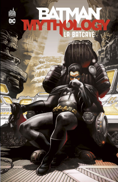 Couverture Batman mythology - La batcave