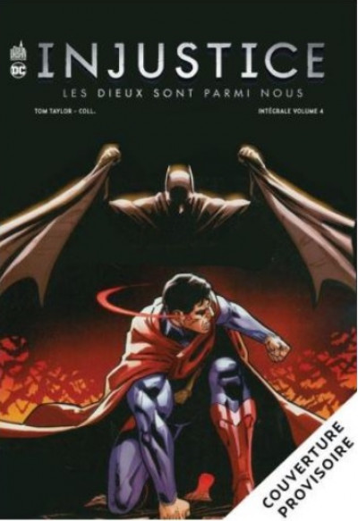 Couverture Injustice - intégrale tome 4