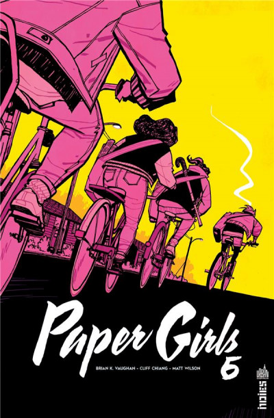 Couverture Paper girls tome 6
