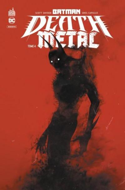 Couverture Batman - death metal tome 4
