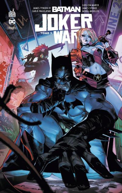 Couverture Batman joker war tome 3