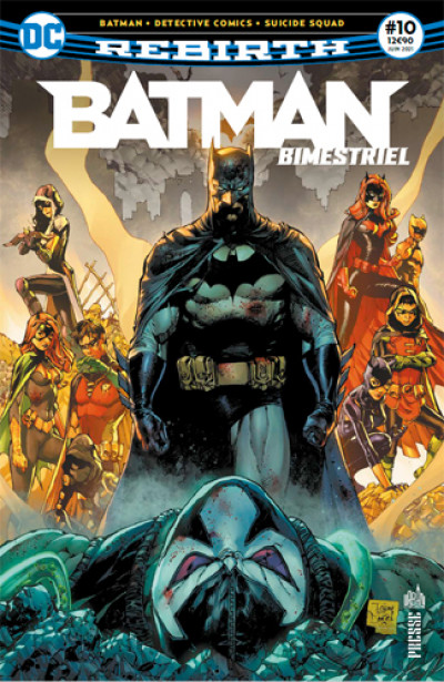 Couverture Batman rebirth (bimestriel) tome 10