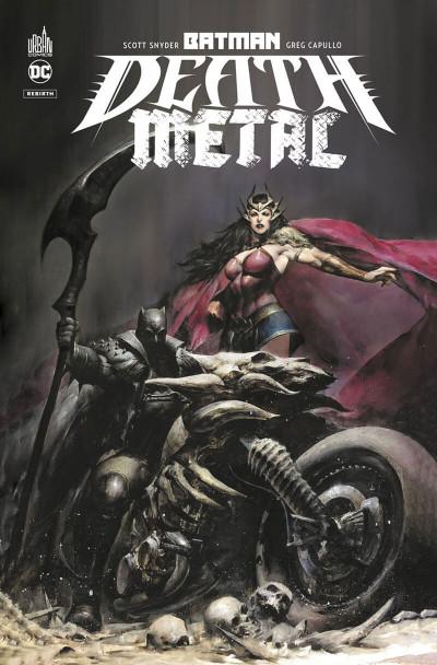 Couverture Batman death metal tome 1
