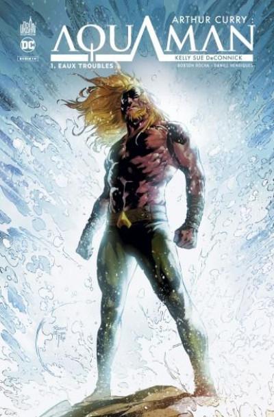 Couverture Arthur Curry - Aquaman tome 1
