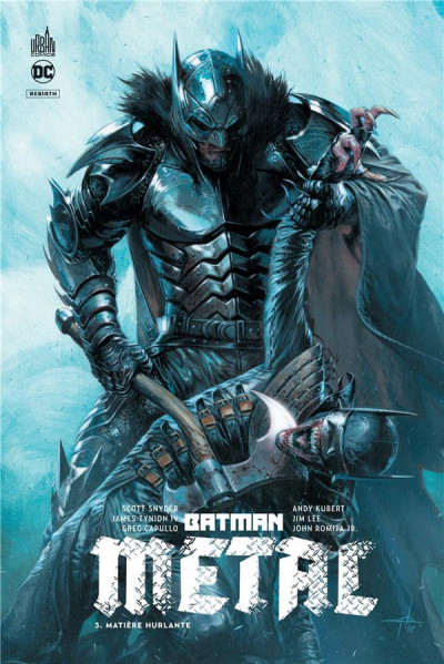 Couverture Batman metal tome 3