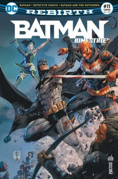 Couverture Batman rebirth (bimestriel) tome 11