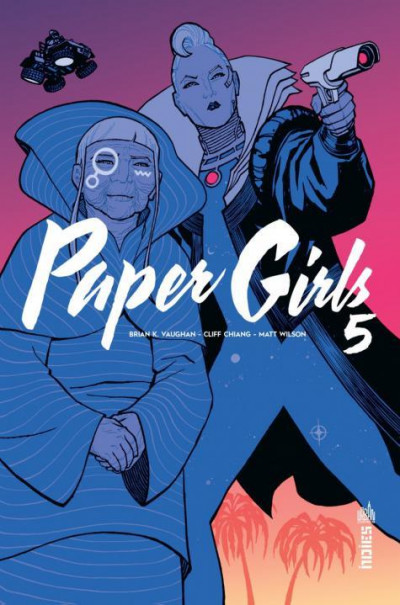 Couverture Paper girls tome 5