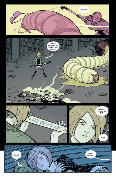 Page 8 Paper girls tome 5