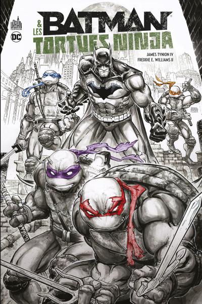 Couverture Batman & les tortues ninja - intégrale