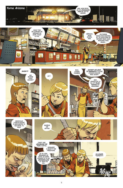 Page 8 Death or Glory tome 1