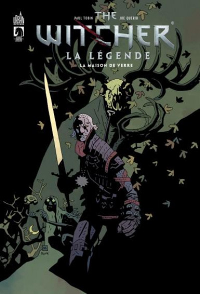 Couverture The witcher - La légende tome 2 - La maison de verre