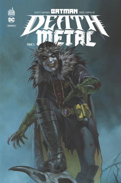 Couverture Batman death metal tome 3